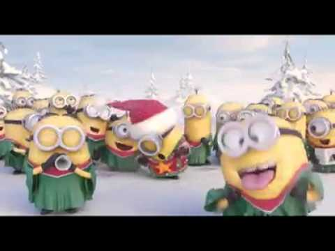 frohe weihnachten minions fun youtube. Black Bedroom Furniture Sets. Home Design Ideas
