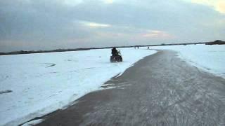 Schaatsen leekstermeer 05-02-2012