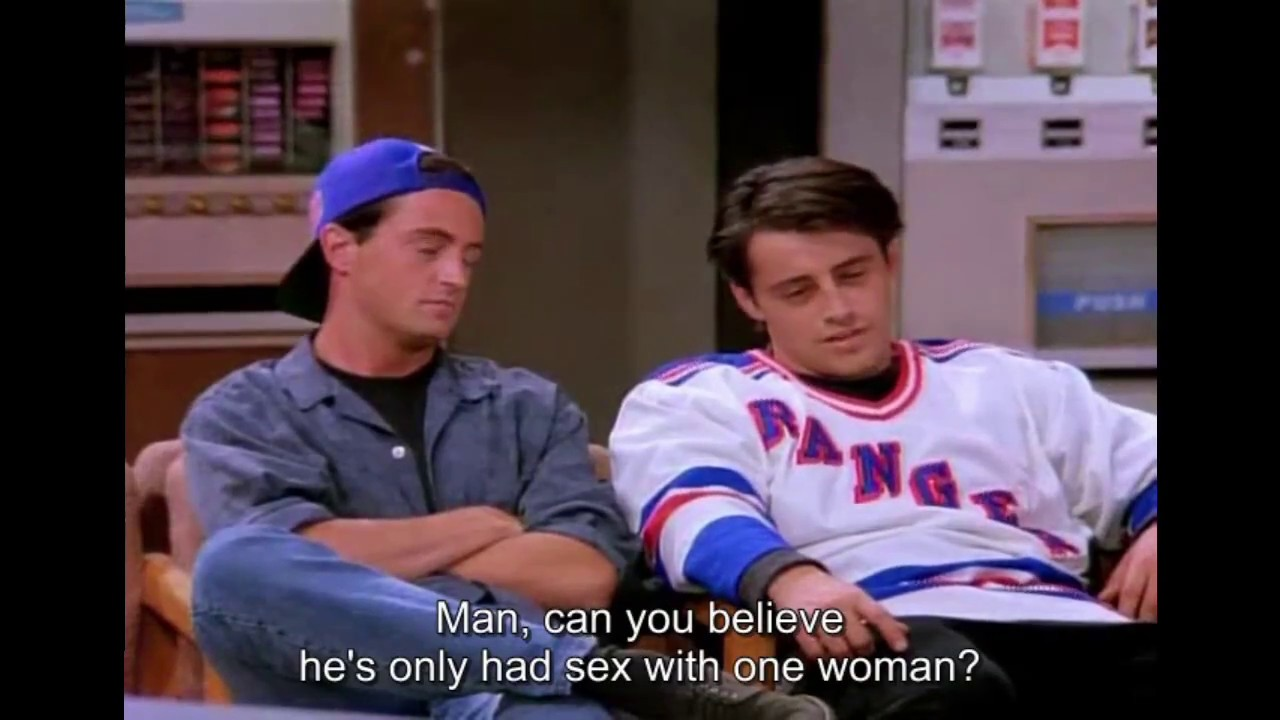 Friends - The best of Chandler and Joey (only) Season 1 Uncut