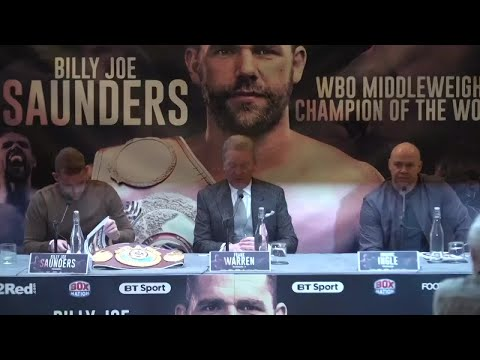 Saunders on Lemieux win, potential fights with Canelo, Golovkin and Jacobs - Full press conference
