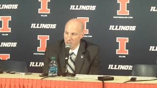 Illinois Postgame Press Conference vs. Austin Peay 11/21/14