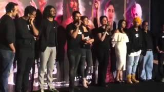 Shahid Kapoor and Kareena Kapoor meet again at Udta Punjab Trailer Launch