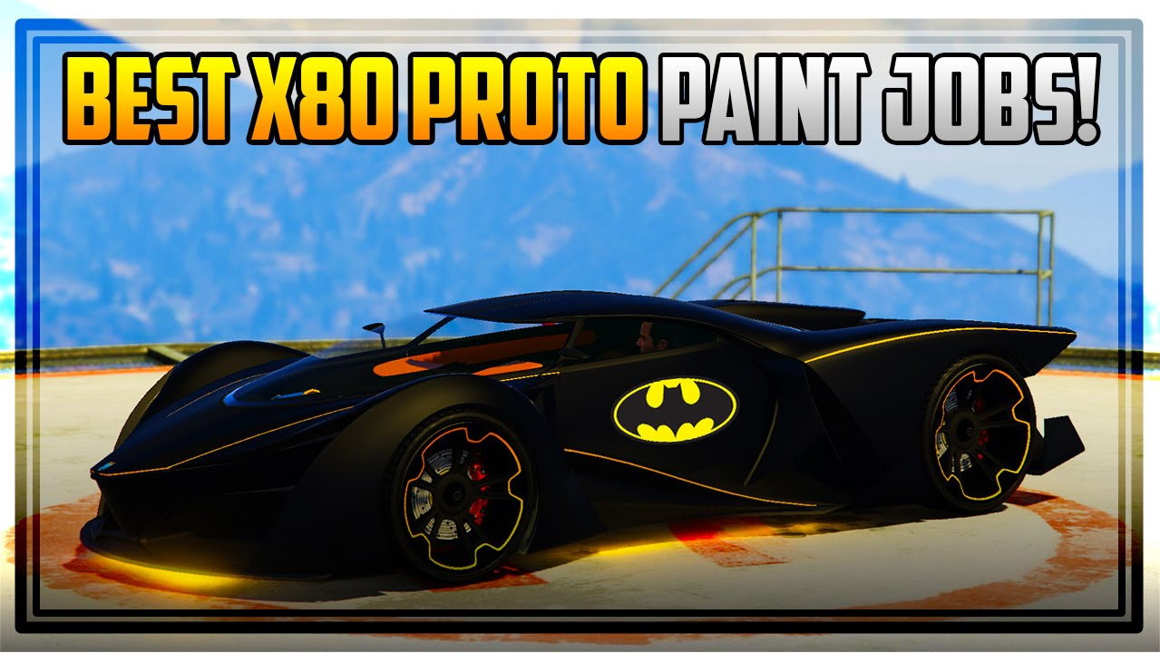 10 awesome 39 x80 proto 39 paint jobs gta 5 online youtube. Black Bedroom Furniture Sets. Home Design Ideas
