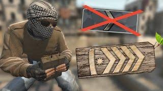THE WOOD RANK EXISTS! - CS:GO Wood Rank