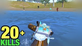 BEST IQ 1000!! | HOW TO SURVIVE UNDERWATER | SOLO VS SQUAD PUBG MOBILE