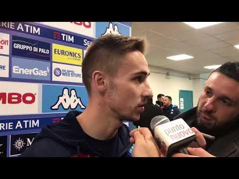 Intervista a Rog dopo Napoli-Udinese 1-0