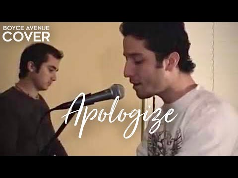 OneRepublic / Timbaland — Apologize (Boyce Avenue piano acoustic cover) on Spotify & Apple