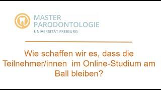 Wie schaffen wir es, dass die Teilnehmer*innen am Ball bleiben? | Uniklinik Freiburg