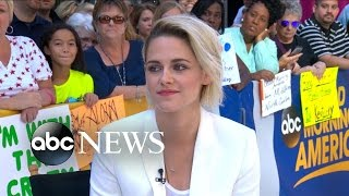 Kristen Stewart Talks Cafe Society