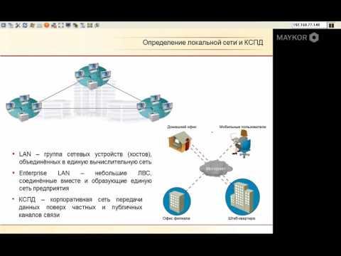 Урок 1.1  Физический уровень Cisco курсы.