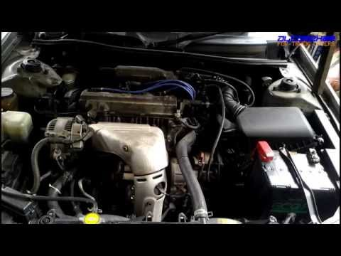 Toyota 5S-FE Engine View - YouTube