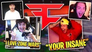Fortnite ZONE WARS with FaZe House Hollywood (FaZe Teeqo Vs. FaZe Jarvis)