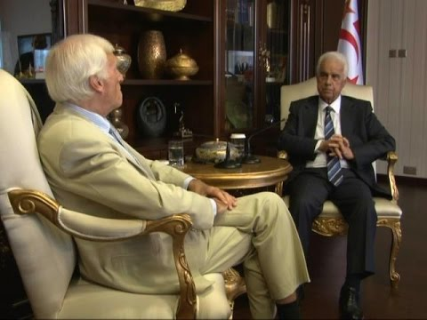 Dervis EROGLU, President of the Turkish Republic of Northern Cyprus (TRNC) on the Cyprus issue