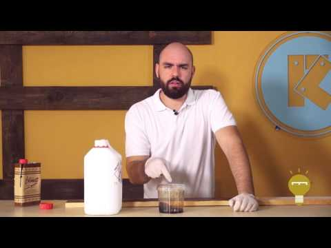 3 métodos originales para aplicar betún de judéa sobre madera de palets   Re-Crea Palets #6