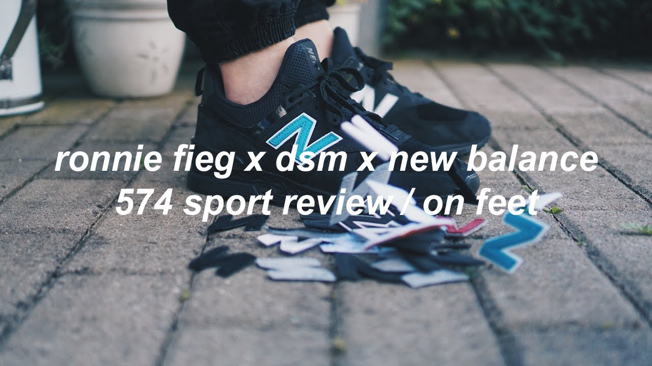 Ronnie Fieg x DSM x New Balance 574 Sport ReviewOn Feet | philliper_