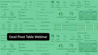 Excel Pivot Table Webinar | Pivot Table Tricks