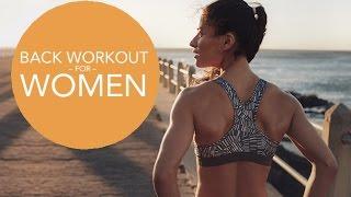 Beginner Back Workout for Women (SCULPTED BACK FOR BEGINNERS!!)