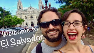 BACKPACKING EL SALVADOR TRAVEL GUIDE   STREET FOOD AND VOLCANO CRATER LAKES   ANCIENT MAYAN RUINS!
