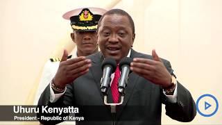 President Kenyatta's message to new Education CS George Magoha