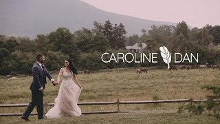 Love at First Sight wedding video | Mountain Top Inn destination wedding film