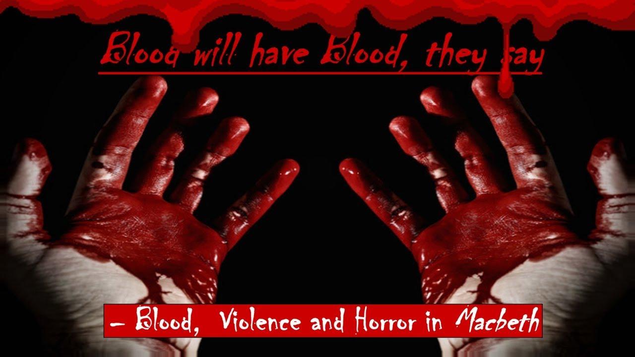 macbeth and blood