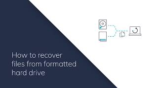 How To Recover Files From Formatted Hard Drive?