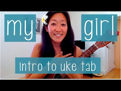 My Girl - The Temptations // Ukulele Tab Tutorial