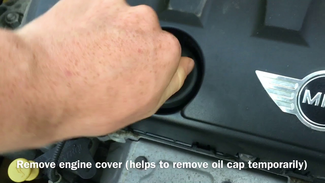 How to change spark plugs on Mini Cooper R56