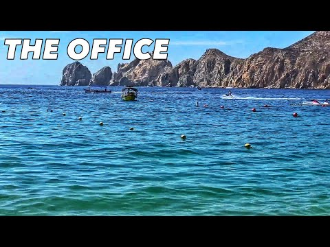 The Office on a BEAUTIFUL beach in Cabo San Lucas, Mexico??