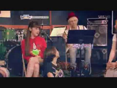 g dragon vs wooyoung who show real love to dara youtube