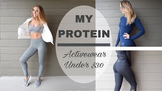 The Most Underrated Affordable Activewear // MyProtein Review