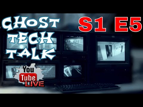 Ghost Tech Talk! Live 8pm EST. PSPR Paranormal Pursuit and PANICd Paranormal History S1 E5