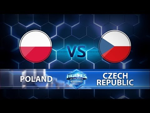 Nexus Games Europe - Group C Match 1 – Poland vs. Czech Republic - Game 1