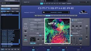 Spectrasonics Omnisphere 2 Preset bank Inertia XP by Imperial Muzikk Preview