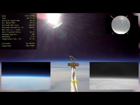 High Altitude Balloon 18