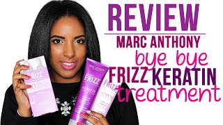 REVIEW: Marc Anthony Bye Bye Frizz Keratin Treament | South African Beauty Blogger ♡