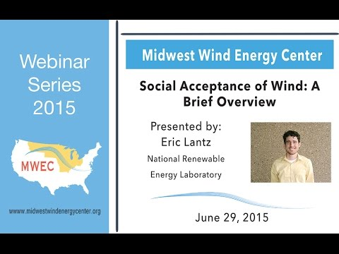 Public Acceptance of Wind: A Brief Overview