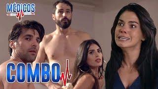 Médicos, línea de vida - C-06: Regina descubre la infidelidad de Sergio | Las Estrellas
