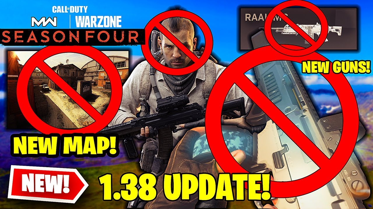 NEW MODERN WARFARE UPDATE 1.38...CANCELLED? CX9, RAAL MG WEAPONS GAMEPLAY UNLOCKED! - MW 1.38 PATCH