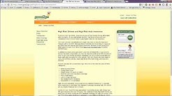 High Risk Auto Insurance Online Quotes