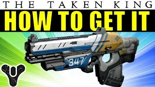 Destiny: How to Get The Boolean Gemini Exotic Scout Rifle | The Taken King