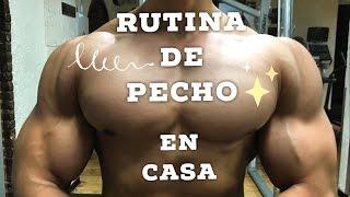 RUTINA DE PECHO MAS GRANDE EN CASA FACIL - ISMAEL MARTINEZ