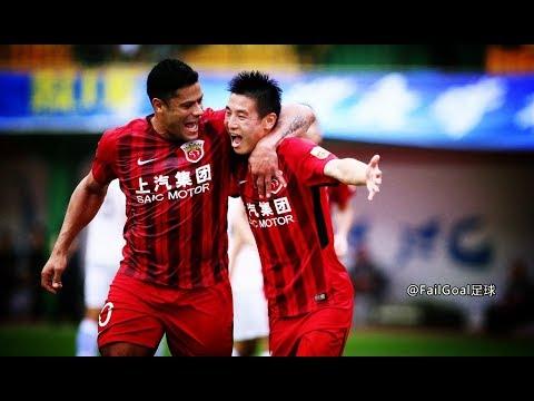 Guangzhou R&F 2-5 Shanghai SIPG,Wu Lei super hat trick!by:FailGoal.com