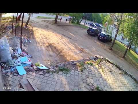дтп в вятских полянах 27.07.2016 камера 1