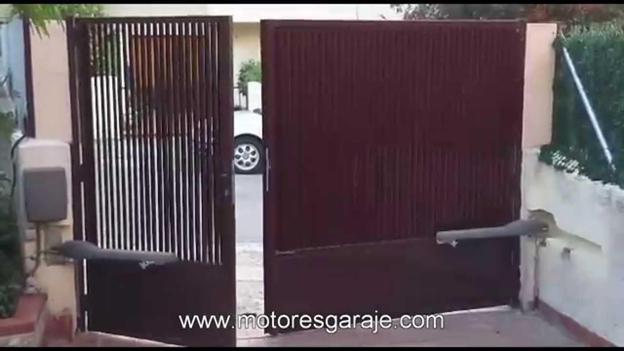 Motor puerta batiente 24v doovi - Motor puerta corredera leroy merlin ...