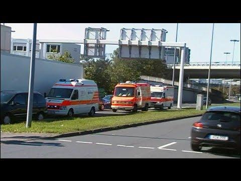 Stau Flughafen Frankfurt