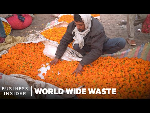 How Sacred Flowers Are Turned Into Incense Sticks | World Wide Waste