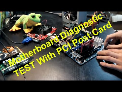 Motherboard Diagnostic Debug Card Tester - PCI Post Card whith LCD Display