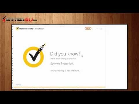 Download and Install Norton Security 2015