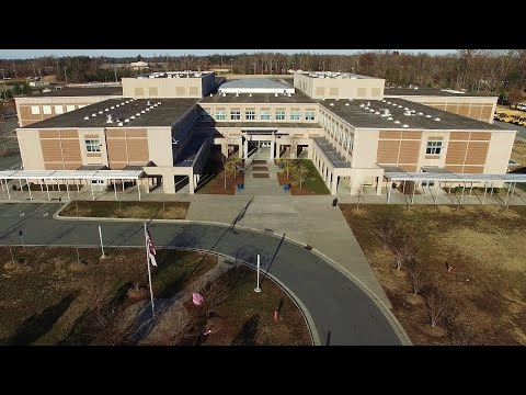Aerial Views of Eastern Guilford High School - Gibsonville, NC